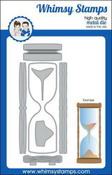 Whimsy Stamps Slimline Hourglass -stanssisetti