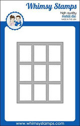 Whimsy Stamps Postage Window A2 -stanssi