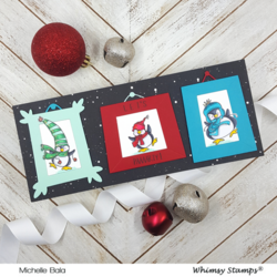 Whimsy Stamps Funky Frames -stanssisetti