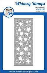 Whimsy Stamps Slimline Stars Background -stanssi