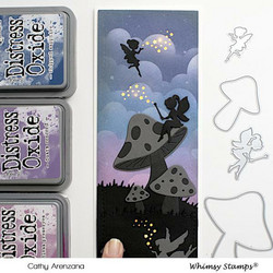 Whimsy Stamps Build-a-Fairy Garden -stanssisetti