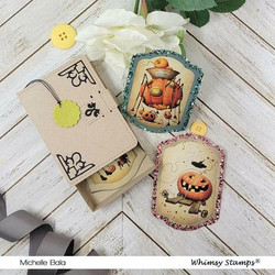 Whimsy Stamps ATC Book -stanssisetti