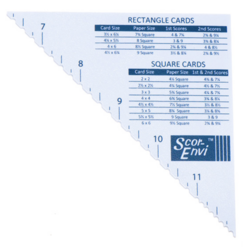 Scor-Envi Diagonal & Envelope Template -lisäosa