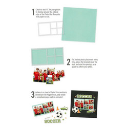 Simple Stories Simple Pages Page Template #12 -sapluuna