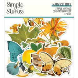 Simple Stories Simple Vintage Country Harvest Bits, leikekuvat