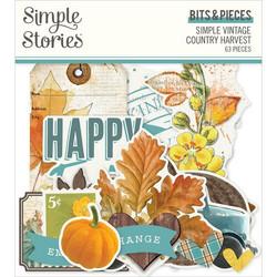 Simple Stories Simple Vintage Country Harvest Bits & Pieces, leikekuvat