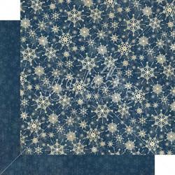 Graphic 45 -paperipakkaus Let It Snow Patterns & Solids 12