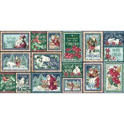 Graphic45 Let It Snow Journaling & Ephemera Cards -leikekuvat