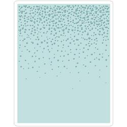 Sizzix Texture Fades A2 kohokuviointikansio Snowfall