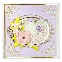 Spellbinders stanssisetti Double Halo Oval