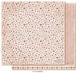Maja Design Happy Christmas skräppipaperi Snowflakes
