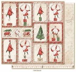 Maja Design Happy Christmas skräppipaperi Die cuts