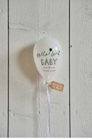 Hello Sweet Baby Balloon, Glass decoration , Riviera Maison