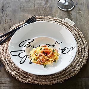 RM Buon Appetito Pasta Plate, Riviera Maison