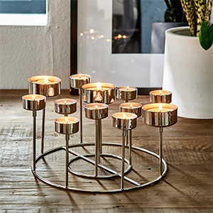 Pullman Multiple Tealight Holder, Riviera Maison