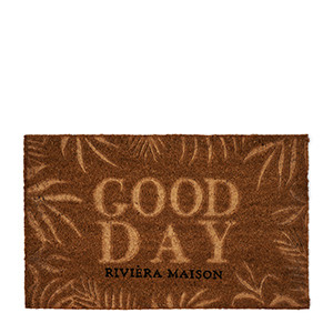 Good Day Leaves Doormat, Riviera Maison