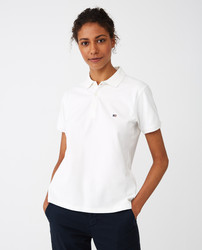 Jess Pique Polo Shirt, Lexington