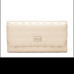 Stile Foldable Wallet Logo Gold, Pipols Bazaar
