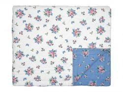 Quilted bed cover Nicoline dusty Blue, GreenGate