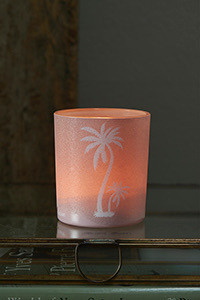 Palm Lane Votive Pink, Riviera Maison