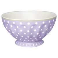 French bowl  large Spot Lavender, GreenGate