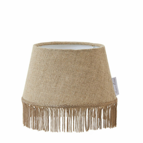 Fringes Linen Lampshade flax, Riviera Maison