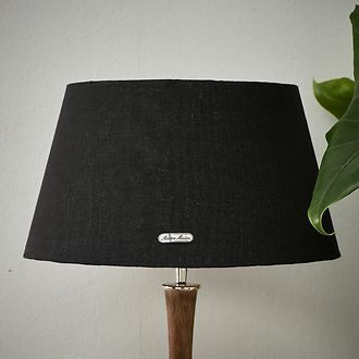 Loveable  Linen L. Shade black , Riviera Maison