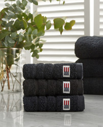 Icons Original   Towel Charcol   koko 30x50cm
