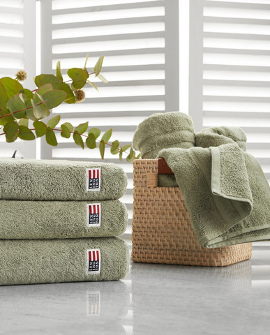 Icons Original Towel Vintage Green, Lexington