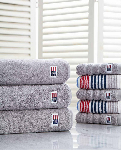 Original Towel Dark Grey 70x130cm,  Lexington