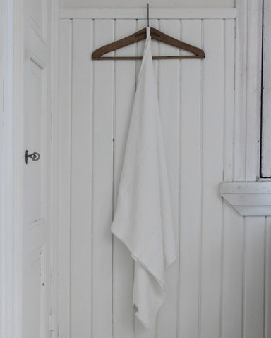 Heaven Linen 80 x 145 kylpypyyhe valkoinen, Käinby