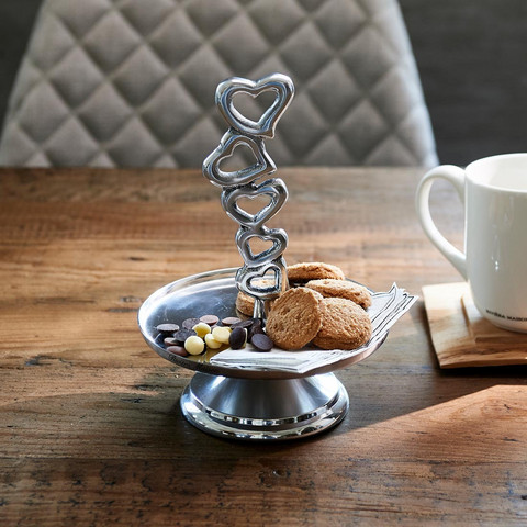 With Love Cake Stand M, Riviera Maison