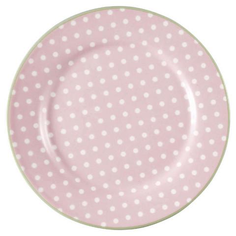 Melaminilautanen Spot Pale Pink, Greengate
