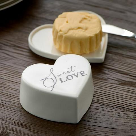Sweet Love Butter Dish, Riviera Maison