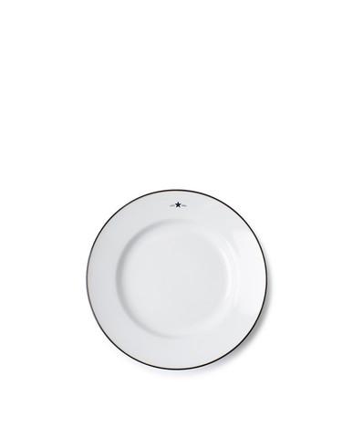 Stoneware Dessert Plate, White, Lexington
