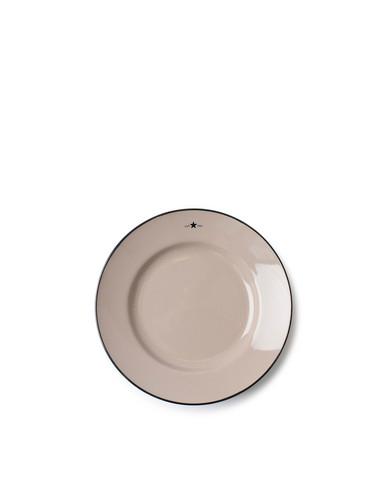 Stoneware Dessert Plate, Beige, Lexington