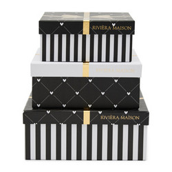 Giftbox Square Set of 3 pcs, RM