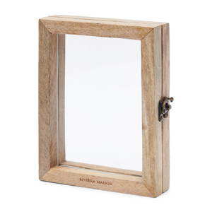 Forrester Photo Frame Glass Book, Riviera Maison