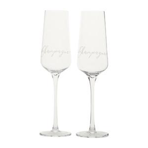 RM Champagne Glass 2 pcs, Riviera Maison