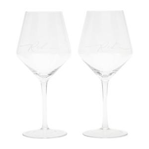 RM Red Wine  Glass 2 pcs, Riviera Maison