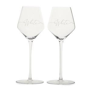 RM White  Wine  Glass 2 pcs, Riviera Maison
