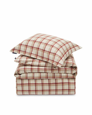 Checked Cotton Flannel Set, Lexington