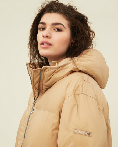 Nora Parka Beige,  koko M, Lexington
