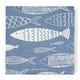 Paper  Napkin The Seafood Club, Riviera Maison