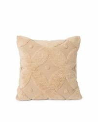 Embroidered Cotton Canvas Pillow Cover, Lexington
