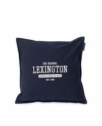 Logo Cotton Canvas Pillow Cover 50x50, Lexington