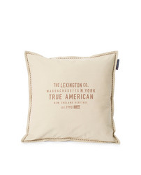 True American Cotton Canvas Pillow Cover 50x50, Lexington