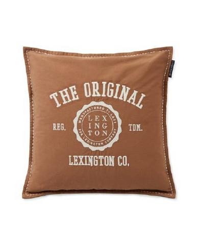 Tyyynynpäällinen Cotton Twill Logo Message Pill, Lexington