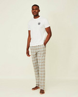 Brooklin Organic Cotton Flannel Pajama Set, Lexington