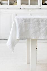 Heaven Linen pöytäliina 145 x 250 valkoinen, Käinby